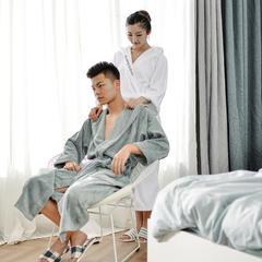 家居用品-男女模合拍 衣长120袖长60胸围135 白色