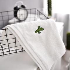 家居用品纯棉毛巾-方巾面巾仙人掌 方巾35*35/条