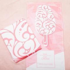 进口棉32s割绒面料毛巾(浴巾80*140 ) 冰淇淋粉
