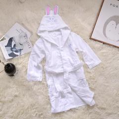 家居儿童浴袍 均码 粉色