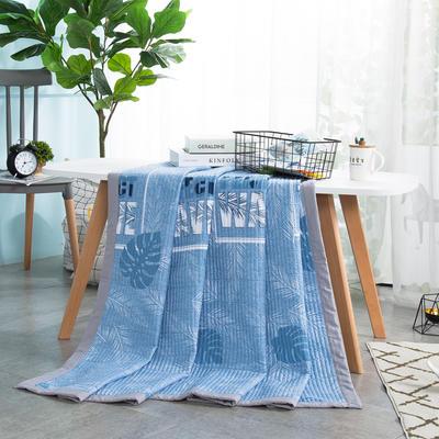 2019新款-水洗棉夏被 200*230cm 龟背叶