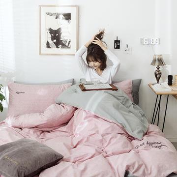 2019新款-全棉肌理纹绣花四件套
