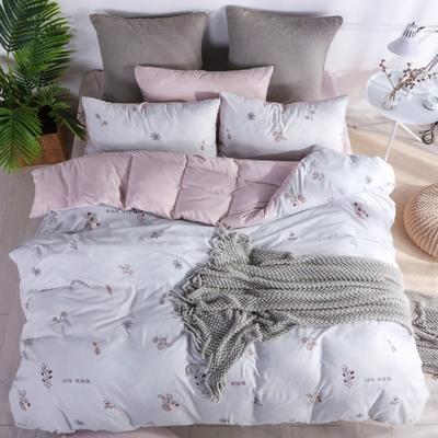 2019新款-水洗棉四件套 1.5m(5英尺)床 惬意