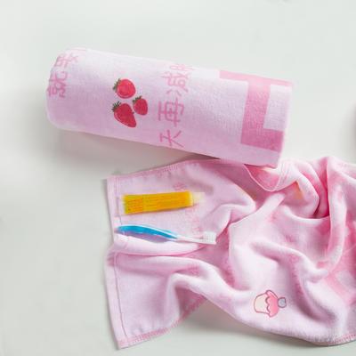 2020新款 -独家全棉大版印花毛巾浴巾 面巾35*75cm 减肥