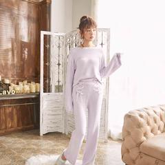 羽毛纱居家服 均码 女款紫色