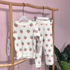 草莓儿童款套装 均码 草莓