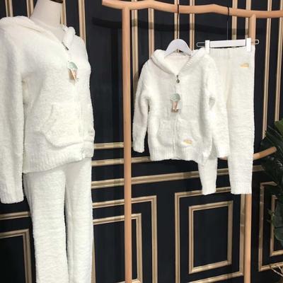 亲子款兔子套装(儿童套装) 均码 白色