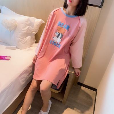 2019新款-小熊裙 L(适合145斤左右) 小熊裙