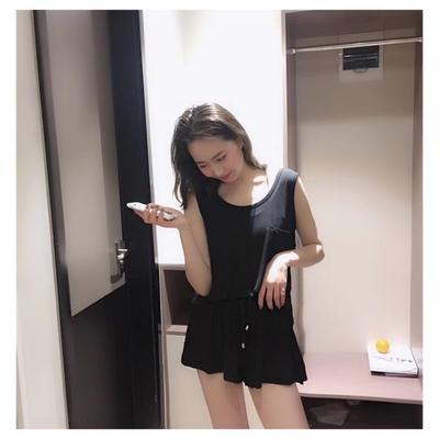 2019新款-summer套装 均码 黑色