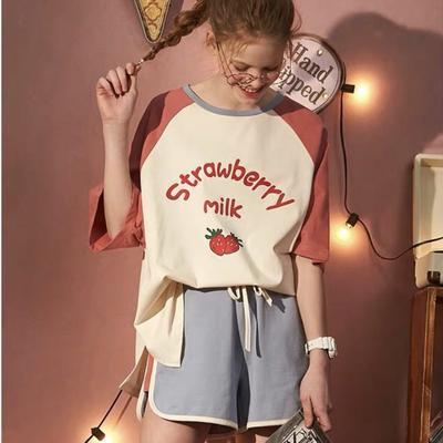 2019新款-果壳草莓套装红色 M 红色