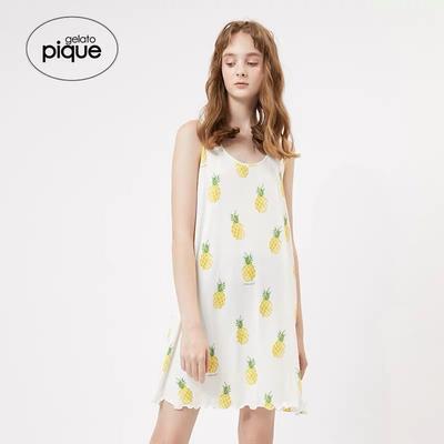 2019新款-莫代尔菠萝裙 均码 莫代尔菠萝裙
