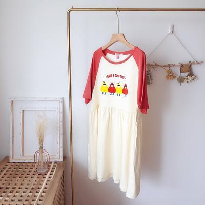 2019新款-水果梨裙 L 水果梨裙