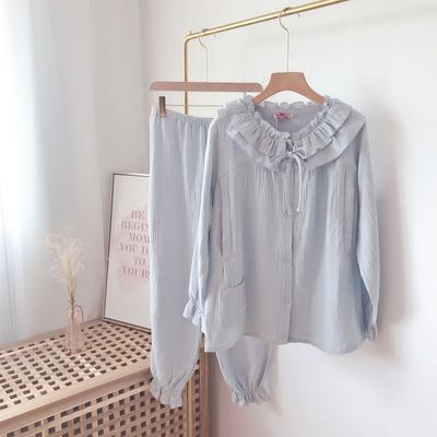 2019新款-月子服 XL 蓝色