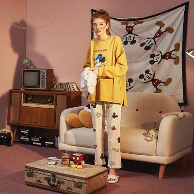 2019新款-全棉米奇黄套装 L 米奇黄套装