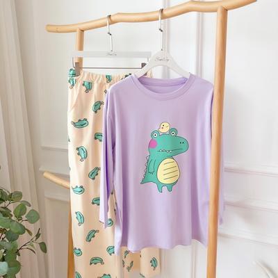 2019新款-恐龙套装 均码 紫色