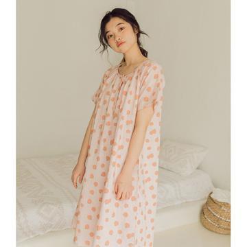 2020新款-家居服纱布番茄套装+裙子