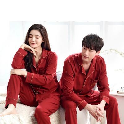 2020新款-家居服喜庆款 女款L 红色