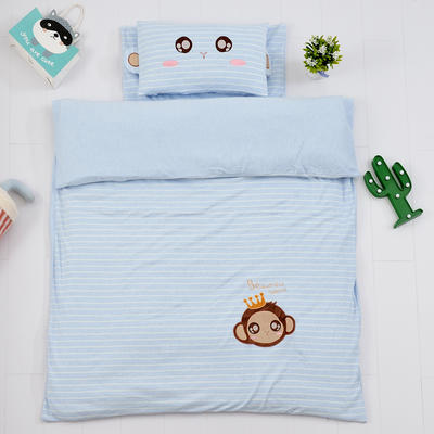2018新款针织三件套 120*150cm 可爱小猴
