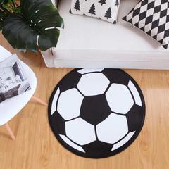 水晶绒地垫圆形(异形) 包装 足球