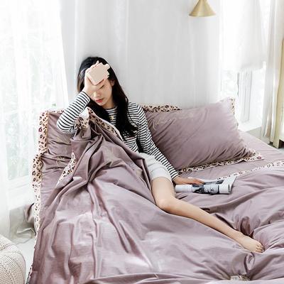 2019新款丽丝绒刺绣系列四件套 小抱枕/个 帕莎