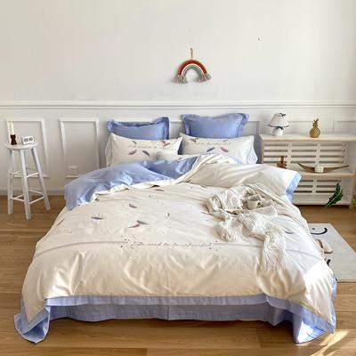 2020新款60支长绒棉四件套 1.5m床单款 多彩生活