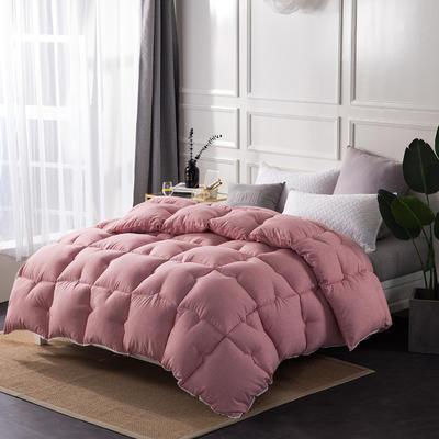 彩棉暖绒冬被 150x200cm5斤 玛瑙红