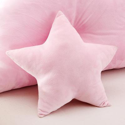靠背系列(儿童小皇冠靠背) 粉色45X45cm 小星星