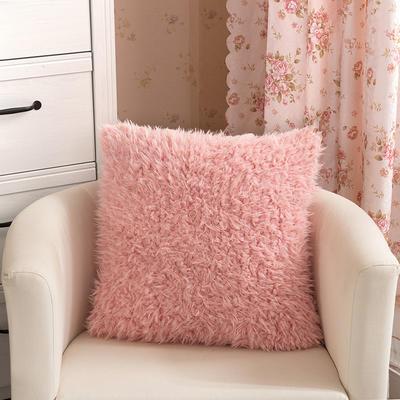 靠背系列(山羊绒系列-山羊绒方形抱枕) 45x45cm 玉色