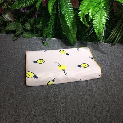 2018新款枕芯儿童乳胶枕 26*44cm(只) 菠萝