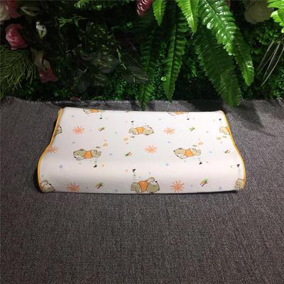 2018新款枕芯儿童乳胶枕 26*44cm(只) 快乐熊