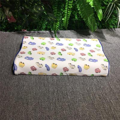 2018新款枕芯儿童乳胶枕 26*44cm(只) 汽车