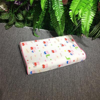 2018新款枕芯儿童乳胶枕 26*44cm(只) 小猪佩琪