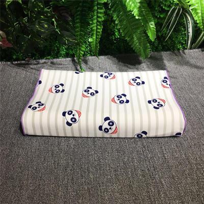 2018新款枕芯儿童乳胶枕 26*44cm(只) 熊猫