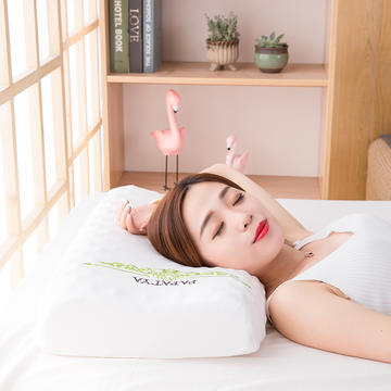 2018新款泰国原装进口帕帕提雅乳胶枕 帕帕提雅乳胶枕60×38×10/12cm