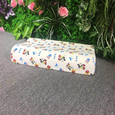 枕芯儿童乳胶枕-30*50*7/9cm 米奇