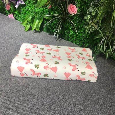 枕芯儿童乳胶枕-30*50*7/9cm 仙女