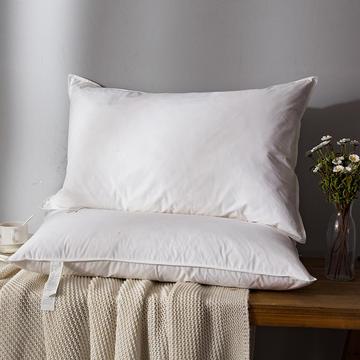 2018新款日式羽绒枕枕头枕芯 (低枕)48*74