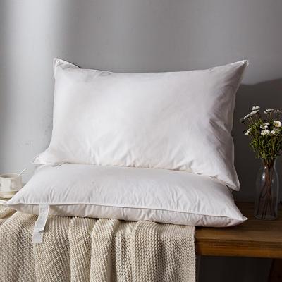 2018新款日式羽绒枕枕头枕芯 (低枕)48*74 日式羽绒低枕