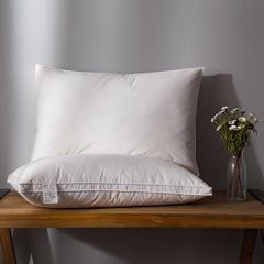 2018新款日式羽绒枕(中枕)枕头枕芯 48*74 日式羽绒中枕