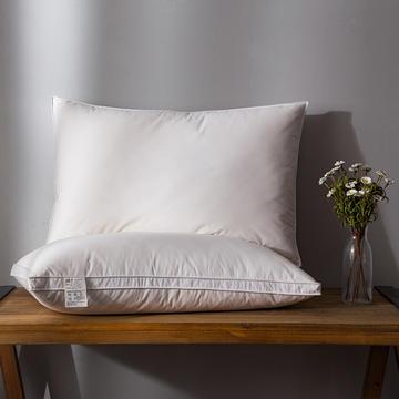 2018新款日式羽绒枕(中枕)枕头枕芯 48*74
