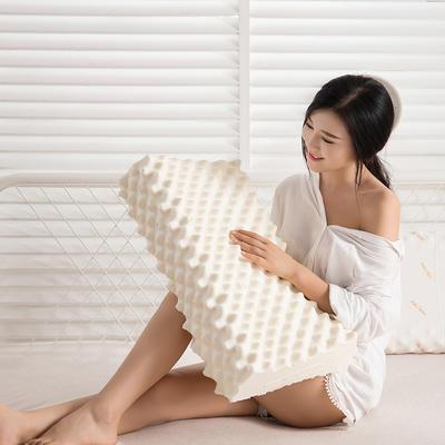 2018新款ku原装进口乳胶枕枕头枕芯 40*60 ku狼牙