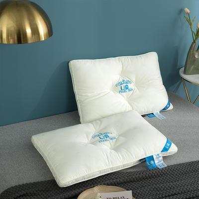2020新款珍珠美肤枕定型枕头枕芯 48*74cm白