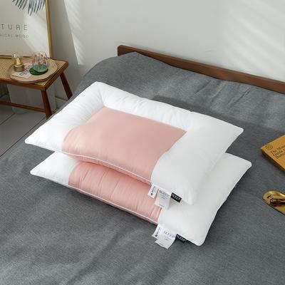 2020新款天丝舒柔枕头枕芯 48*74cm桔色