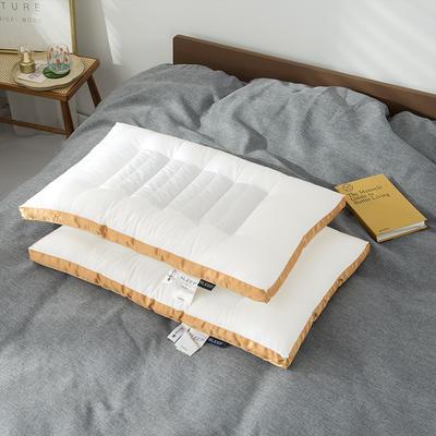 2020新款荞麦两用枕头枕芯 48*74cm桔色