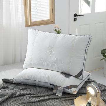 2020新款蚕蛹蛋白羽丝绒枕头枕芯