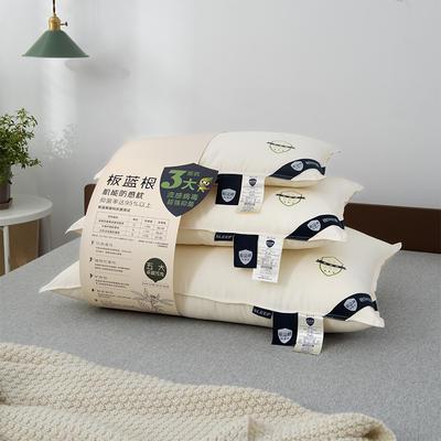 2020新款板蓝根机能防感枕头枕芯亲子款 40*60cm白