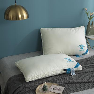 2020新款珍珠美肤羽丝绒面膜枕头枕芯 48*74cm白