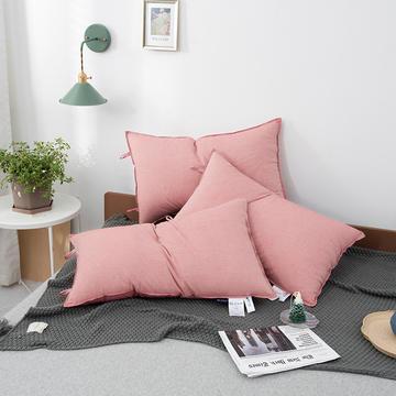 2020新款无印水洗棉羽丝绒极简舒适枕枕头枕芯