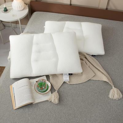 2020新款舒适亲肤枕枕头枕芯 48*74cm白色/只
