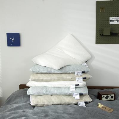 2020新款布兰卡透气枕枕头枕芯 48*74cm蓝色